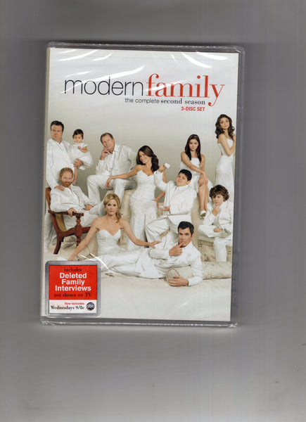 Modern Family The Complete Second Season DVD Set Sealed New