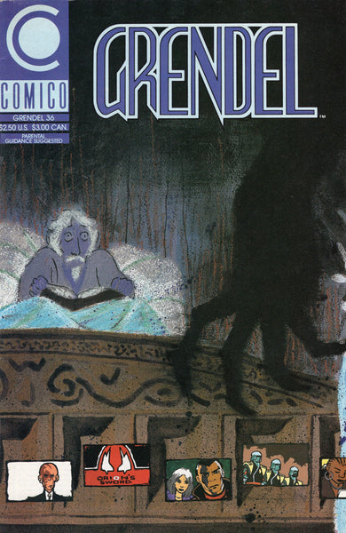 "Grendel #36 ""Devil In Intent"" Mature Readers HTF Later Issue FVF"