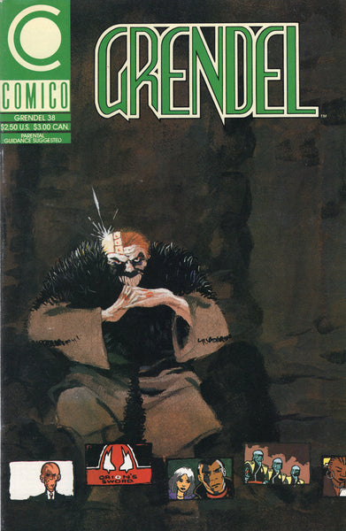 "Grendel #38 ""Devil In Drive"" HTF Later Later Issue For Mature Readers VF"
