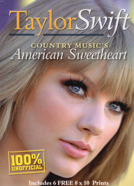 Taylor Swift Country Music's American Sweetheart Magazine & 8x10 Photo Set