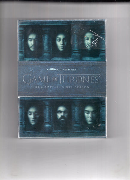 Game Of Thrones Complete Sixth Season DVD Boxed Set Sealed New!