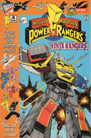 Saban's Mighty Morphin' Power Rangers / VR Troopers Flip Book #4 Very HTF FVF