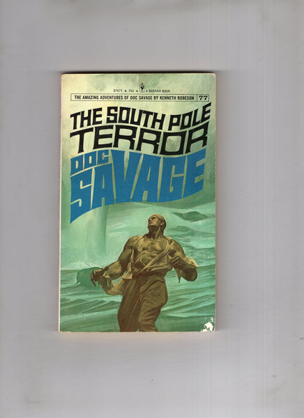"Doc Savage #77 ""The South Pole Terror"" Vintage Paperback Kenneth Robeson FN"