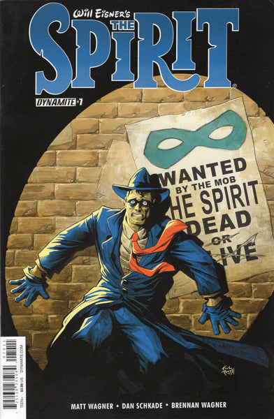 Will Eisner's The Spirit #1 Wanted By The Mob! Eric Powell cover VF