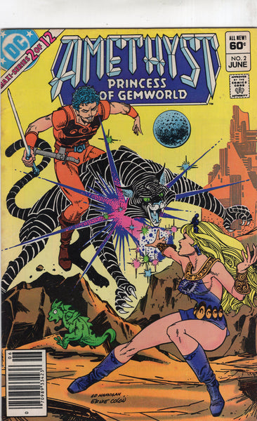 Amethyst Princess Of Gemworld #2 News Stand Variant VG+