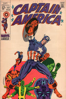 Captain America #111 Steranko Art The Death Of Steve Rogers! Silver Age Key FN