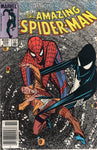 Amazing Spider-Man #258 The Black Suit Is Back! News Stand Variant VF-