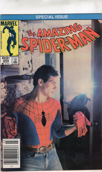 Amazing Spider-Man #262 Photocover! News Stand Variant!! FN