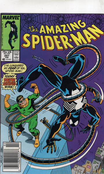 Amazing Spider-Man #297 Doctor Octopus Wins! News Stand Variant VF-