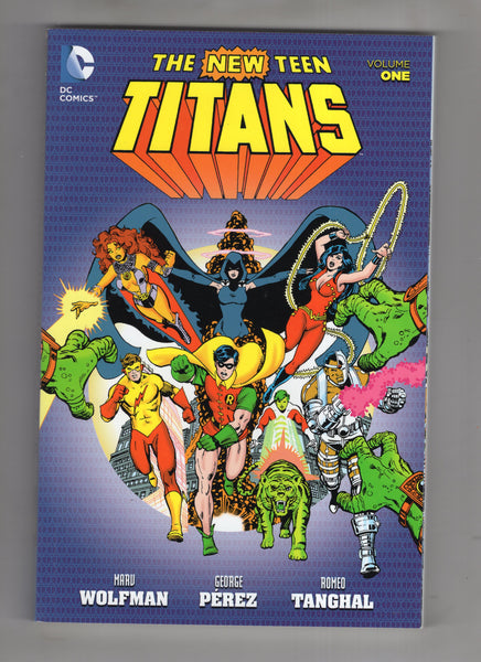 New Teen Titans Trade Paperback Volume One Wolfman Perez Classics VF