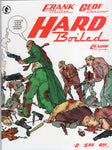 Hard Boiled #2 of 3 Frank Miller & Geoff Darrow Magazine Size Mature Readers VFNM
