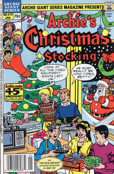 Archie Giant Series Magazine #579 Archie's Christmas Stocking FVF