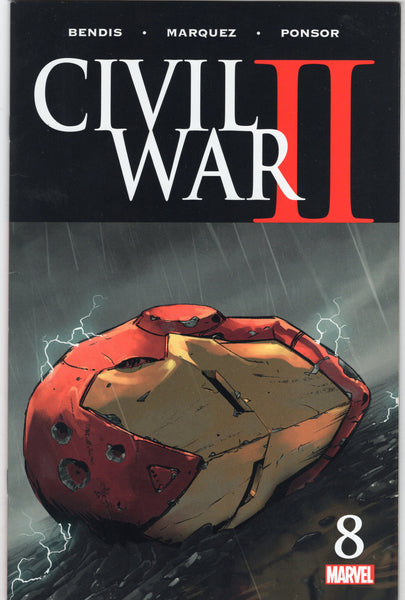 Civil War II #8 Protect The Future! VF