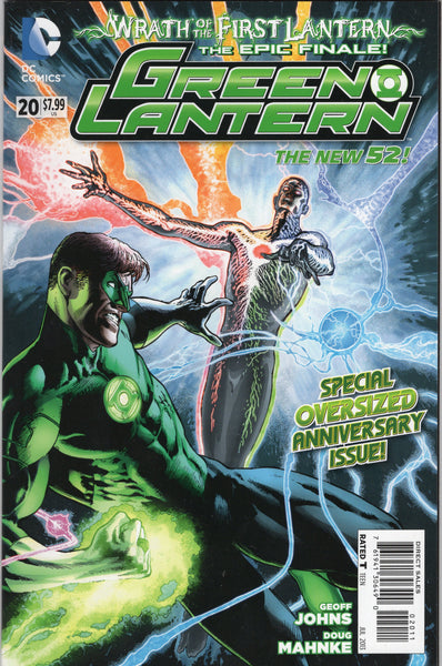 Green Lantern #20 (New 52 Series) Wrath Of The First Lantern Giant Sized Special NM