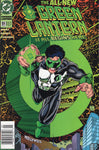 Green Lanteren #51 First Kyle Rayner as GL HTF News Stand Variant Modern Key VFNM