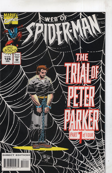 Web Of Spider-Man #126 In Chains! VF