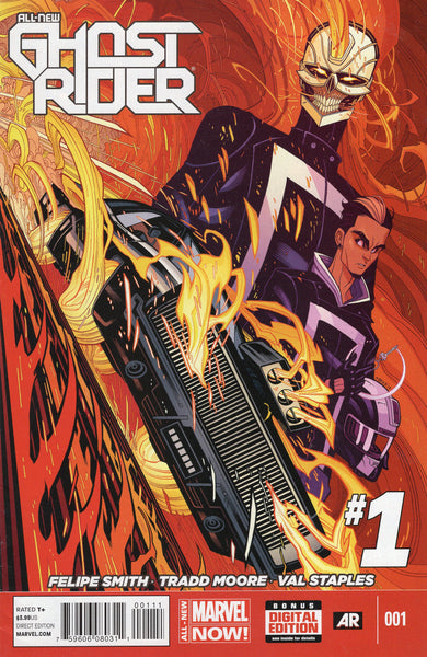 All-New Ghost-Rider #1 Engines Of Vengeance! VF