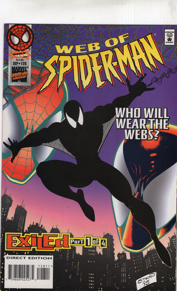 Web Of Spider-Man #128 Who Will Wear The Webs! VFNM