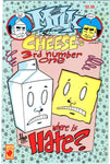 Milk & Cheese Third #1 (#3) Where is The Hate? HTF SLG Mature Readers FVF