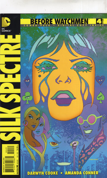 Before Watchmen: Silk Spectre #4 Combo-Pack Variant FVF