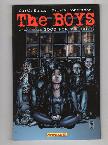 "The Boys Trade Paperback Vol. 3 Second Print ""Good For The Soul"" Dynamite Mature Readers  VF"