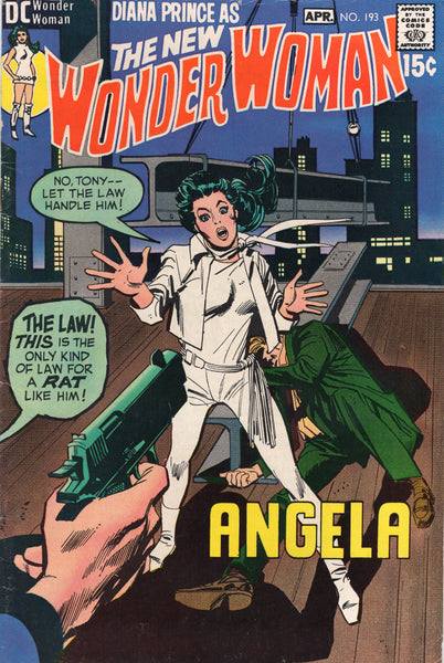 The New Wonder Woman #197 VG