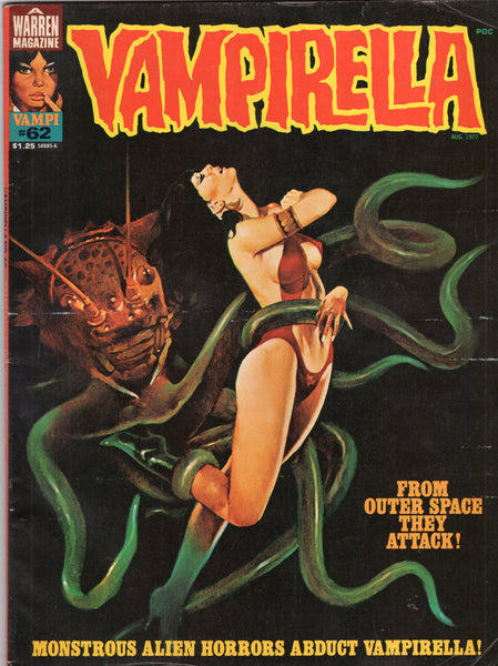 Vampirella #62 Warren Magazine Bronze Age Horror Classic Mature Readers VG