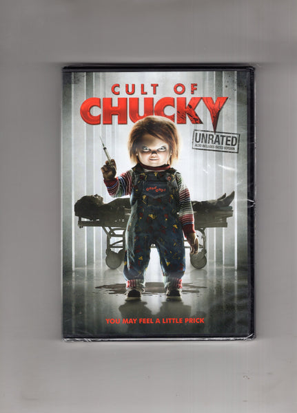 "Cult Of Chucky DVD ""You May Feel A Little Prick"" Sealed New Horror"