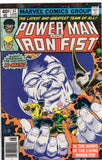Power Man And Iron Fist #57 The Living Monolith! Early Byrne X-Men Bronze Age Key VFNM