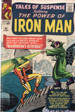 Tales Of Suspense #54 The Power Of Iron Man vs The Mandarin (2nd Appearance) Silver Age Key VG
