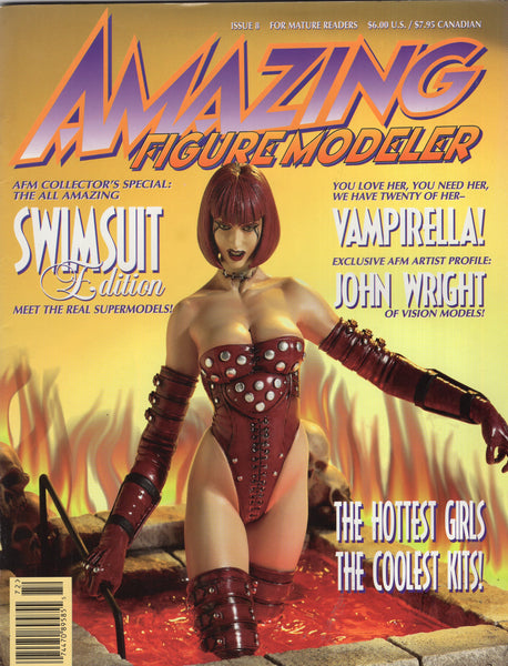 Amazing Figure Modeler #8 For Mature Readers FN