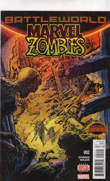 Marvel Zombies #2 Secret Wars Battleworld Mature Readers VF