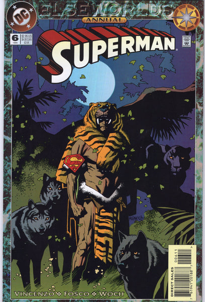 Superman Annual #6 Elseworlds Story VF
