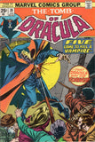 "Tomb of Dracula #28 Five Came To Kill A Vampire!"" Early Blade Appearance VG"