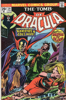 "Tomb of Dracula #29 ""A Vampire Goes Mad!"" Bronze Age Horror VGFN"