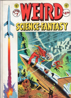EC Classics #7 Weird Science-Fantasy Magazine Sized Reprints Groovy Old EC Stories FN