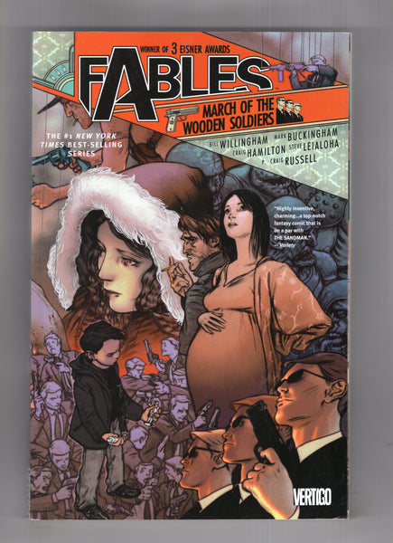 Fables Vol #4 Trade Paperback Ninth Print March Of The Wooden Soldiers VF