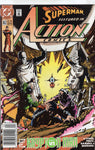Action Comics #652 News Stand Variant VFNM