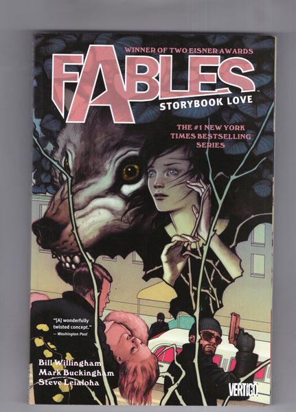 Fables Vol #3 Trade Paperback Ninth Print Storybook Love Vertigo VF