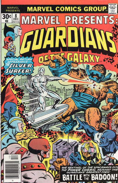 Marvel Presents #8 Guardians of the Galaxy Bronze Age FN