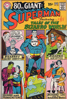 Superman #202 (aka 80 pg Giant G42) Tales Of The Bizarro World! Sweet Silver Page Giant FVF