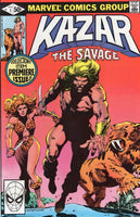 Ka-Zar The Savage #1 Early Solo Appearance VFNM
