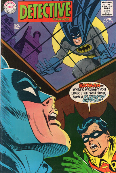 Detective Comics #376 You Just Saw A Ghost! Silver Age VGFN