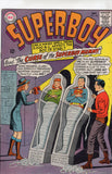 Superboy #123 Curse Of The Superboy Mummy! Silver Age VG