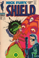 Nick Fury, Agent Of S.H.I.E.L.D. #5 Steranko Story And Art Silver Age Key VGFN