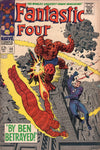Fantastic Four #69 By Ben Betrayed Silver Age Kirby Classic! VGFN