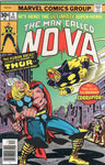 The Man Called Nova #4 Kirby Thor Cover VF