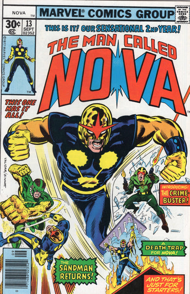 The Man Called Nova #13 Bronze Age FNVF