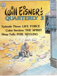 Will Eisner's Quarterly #3 HTF Kitchen Sink FVF