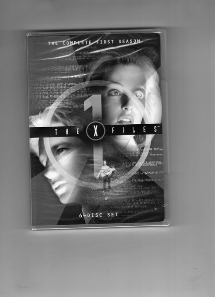 X-Files Complete First Season DVD Set Mulder And Scully Sealed Brand New!